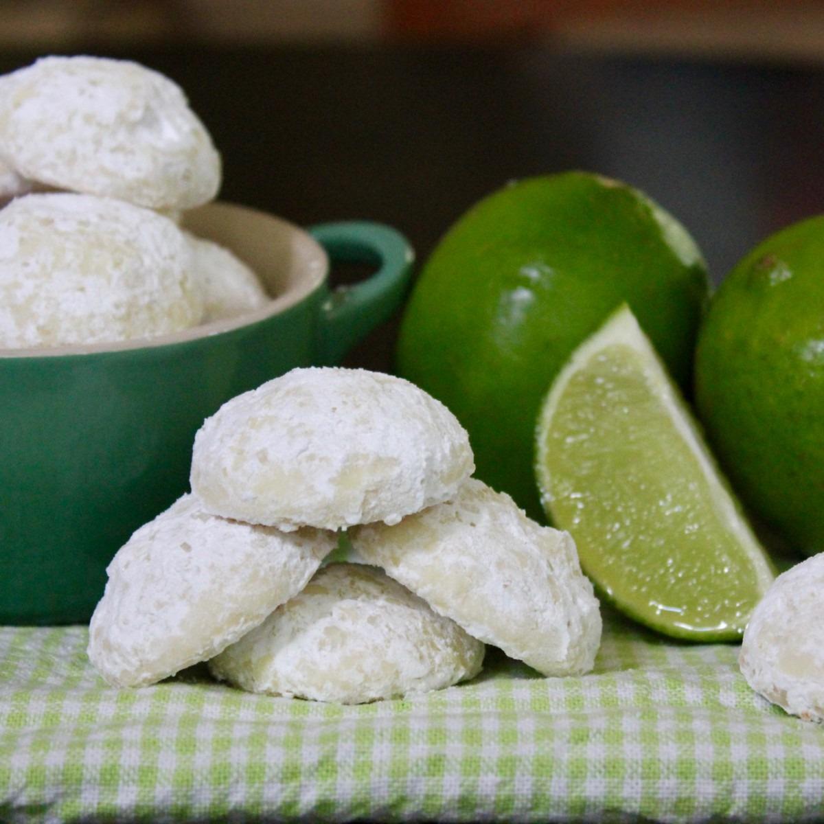 Key Lime Sparkler Cookies