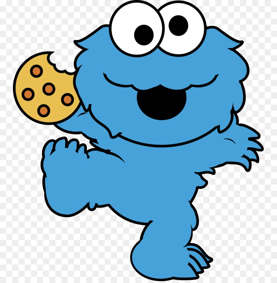 Cookie Monster Elmo Clip Art