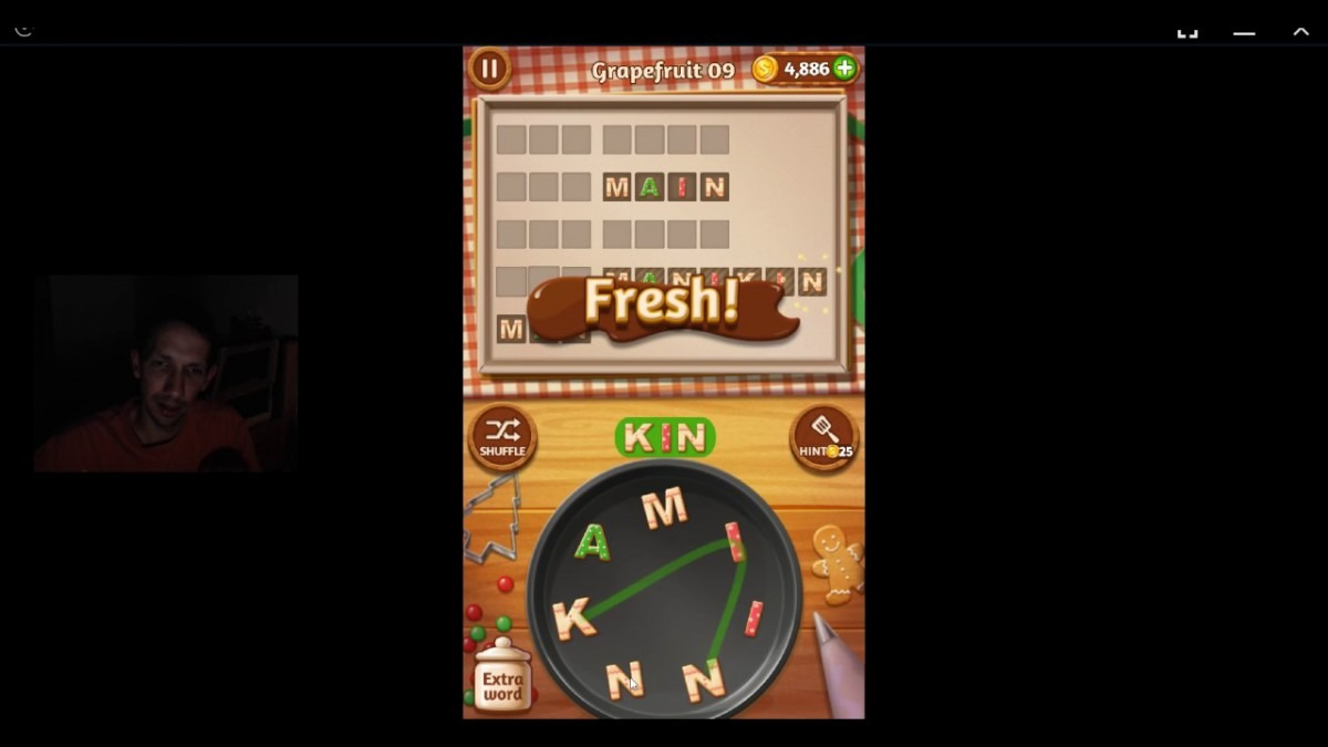 Word Cookies, Star Chef, Updated Grapefruit Level 9 Solved