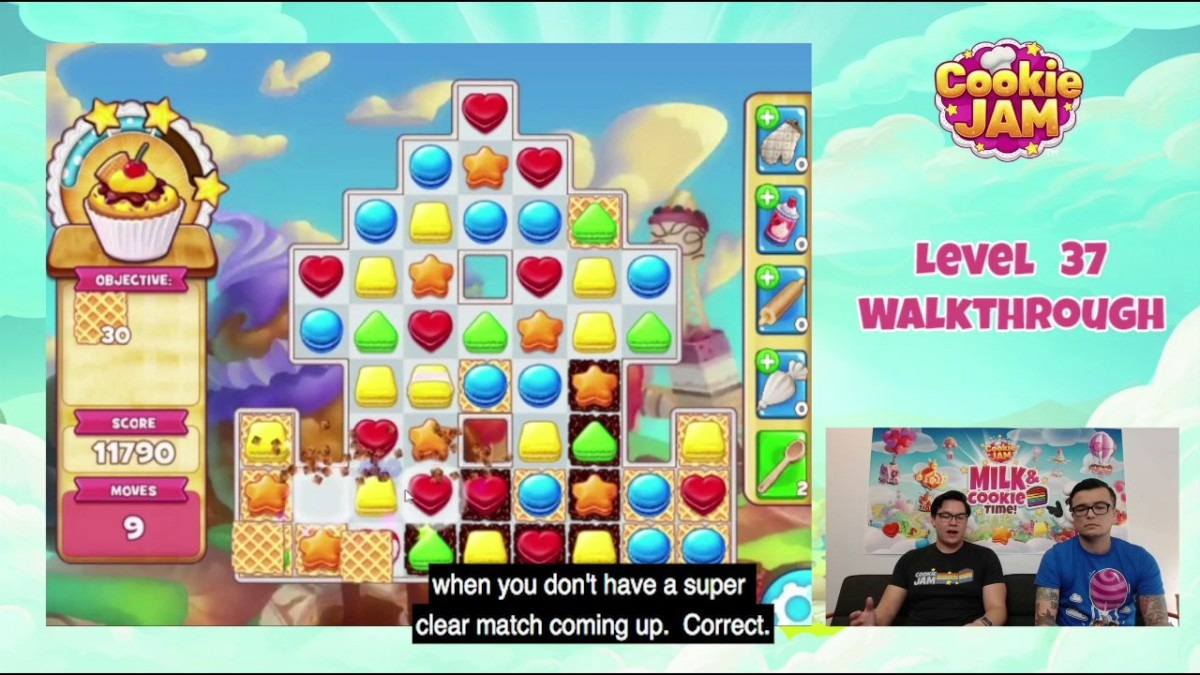 Level 37 Cookie Jam Tips And Tricks You Can't Afford To Miss