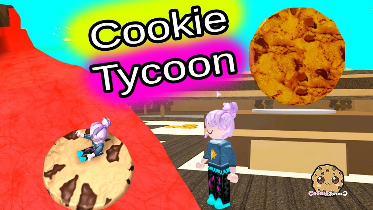 Roblox Riding Cookies On Lava & Building Cookie Tycoon