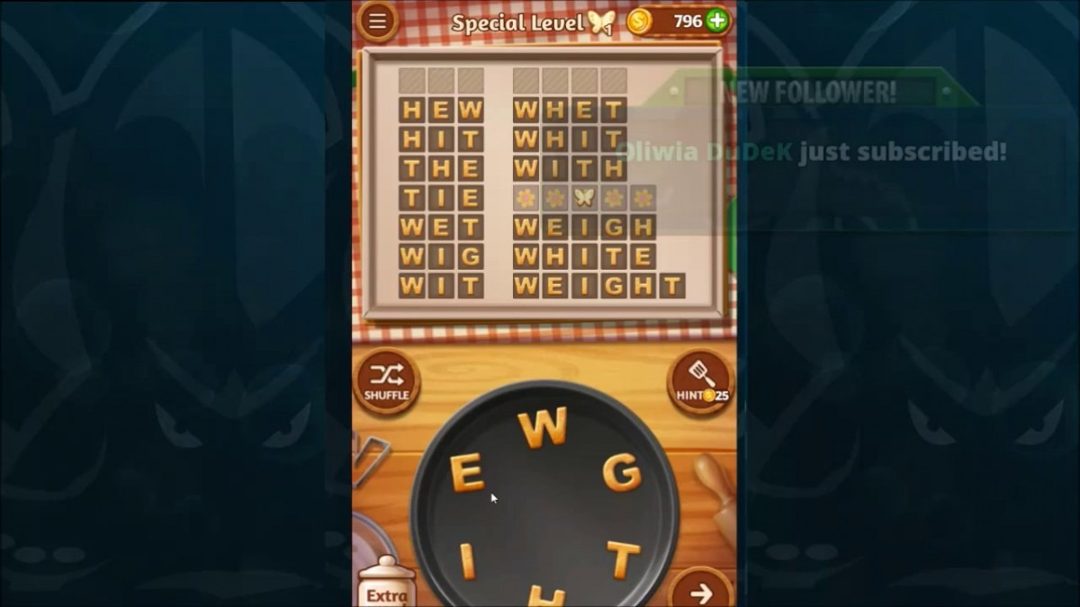 Word Cookies Walkthrough Strawberry Level 10 Special Level Solved