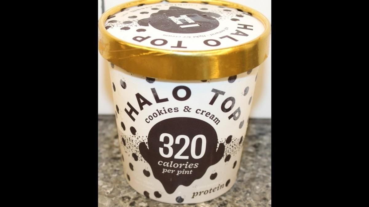 Halo Top  Cookies & Cream Ice Cream Review