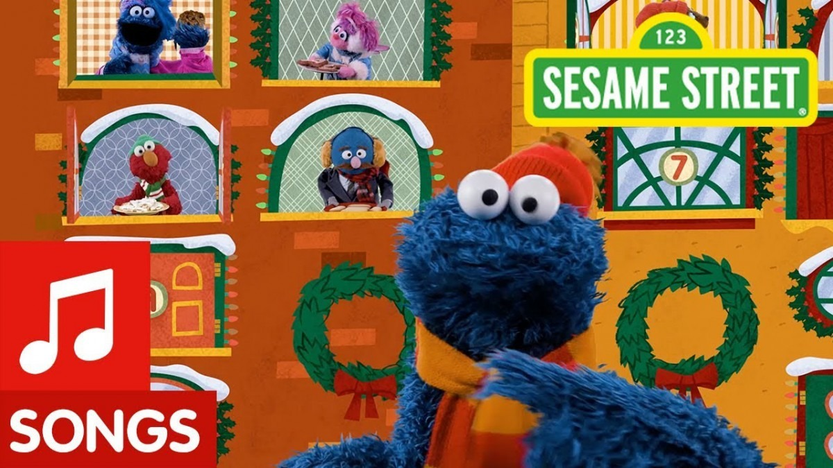 Sesame Street  12 Days Of Christmas Cookies