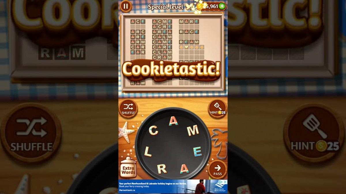 Word Cookies Orange 5 Special