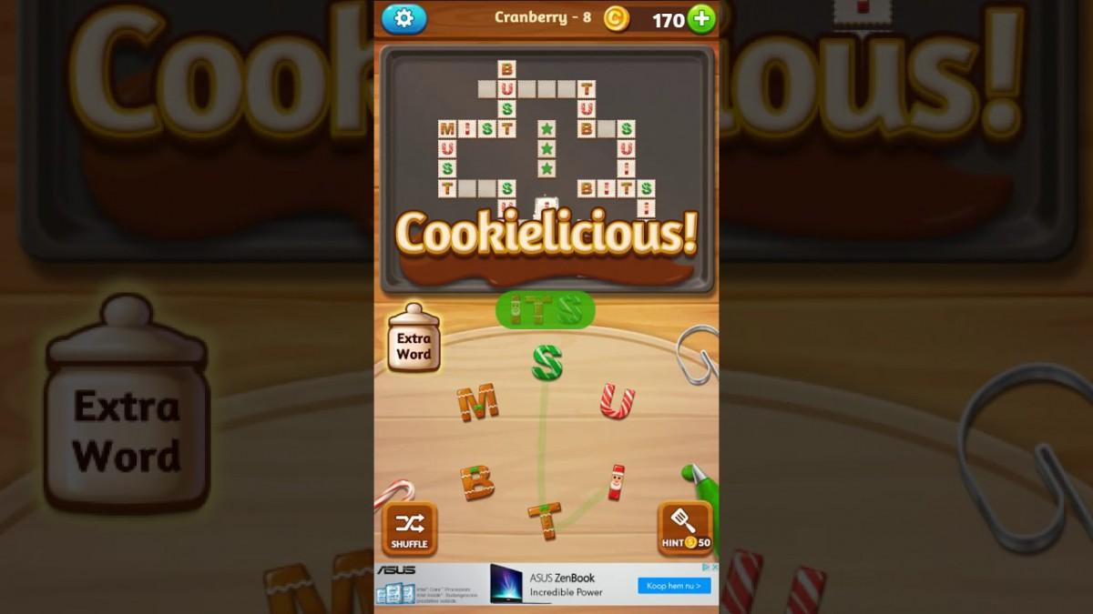 Word Cookies Cross Cranberry 8