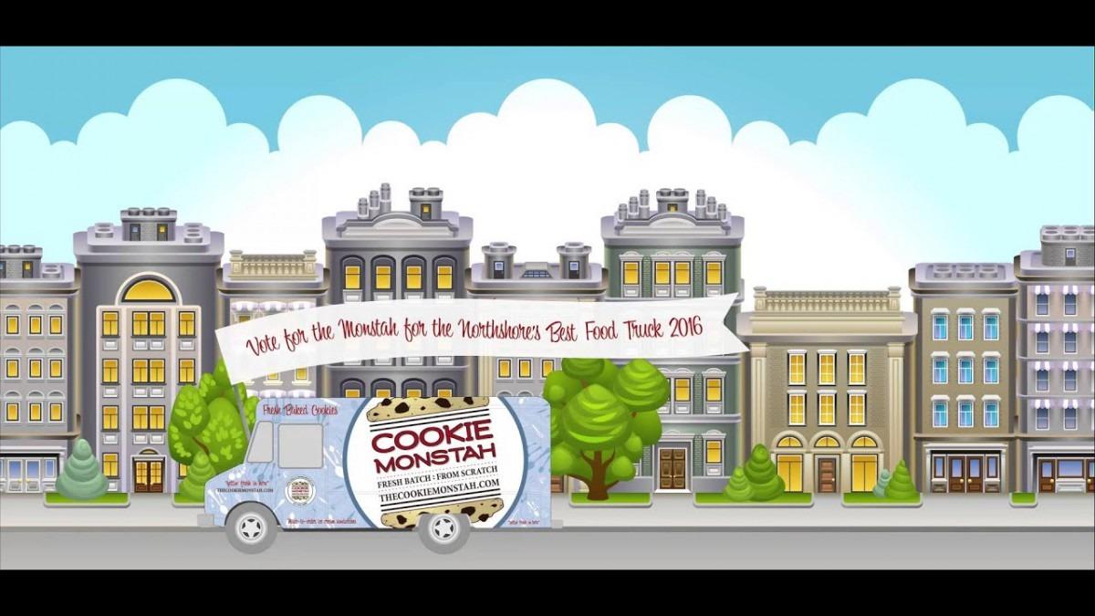 The Cookie Monstah Boston Food Truck