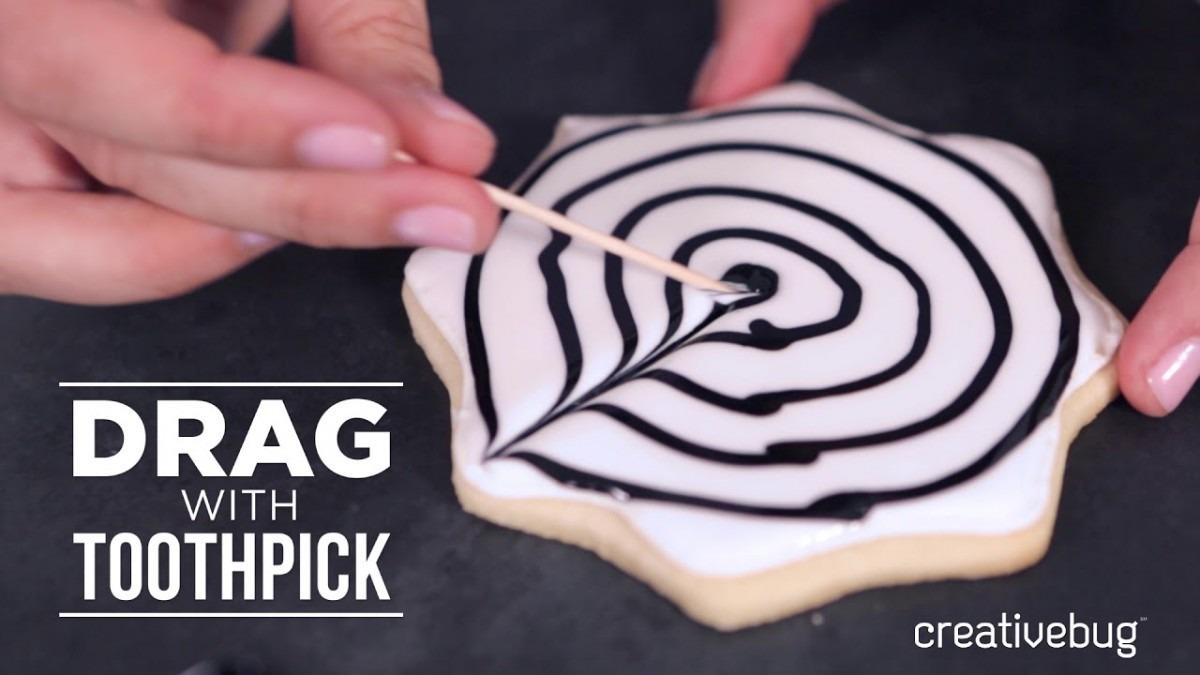 Spider Web Sugar Cookies Time