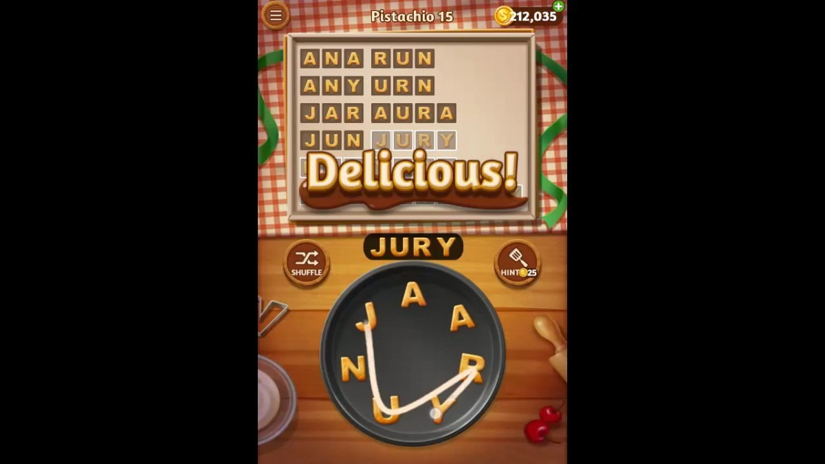 Word Cookies Pistachio Pack Level 15 Answers
