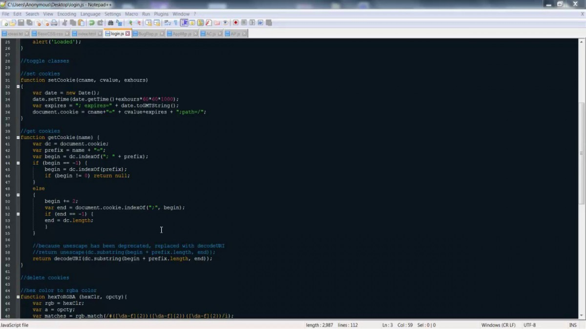Get Cookie By Name In Javascript