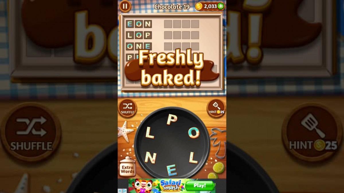 Word Cookies Chocolate 19