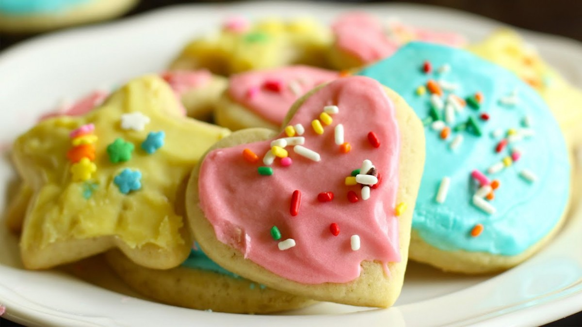Soft Sugar Cookies With Icing Recipe