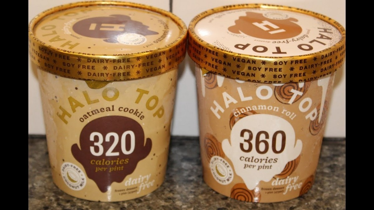 Halo Top Vegan, Soy Free, Dairy Free  Oatmeal Cookie & Cinnamon