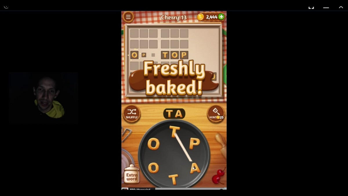 Word Cookies, Talented Chef, Cherry Level 13
