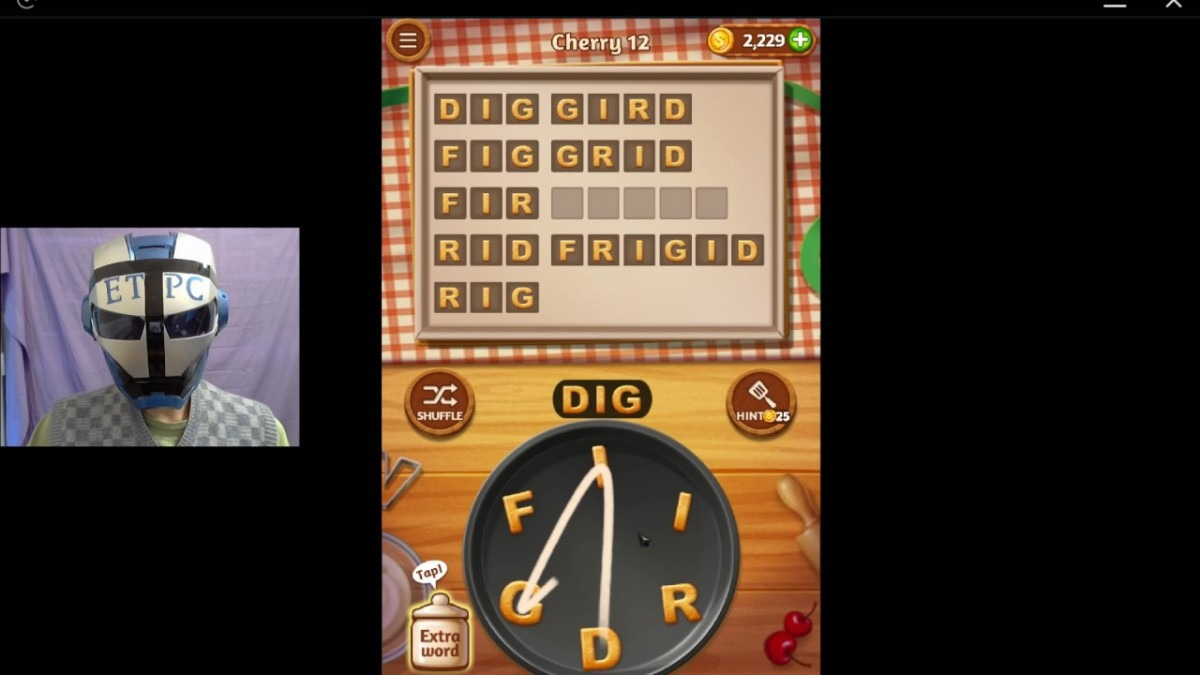 Word Cookies Cherry 12 Solved