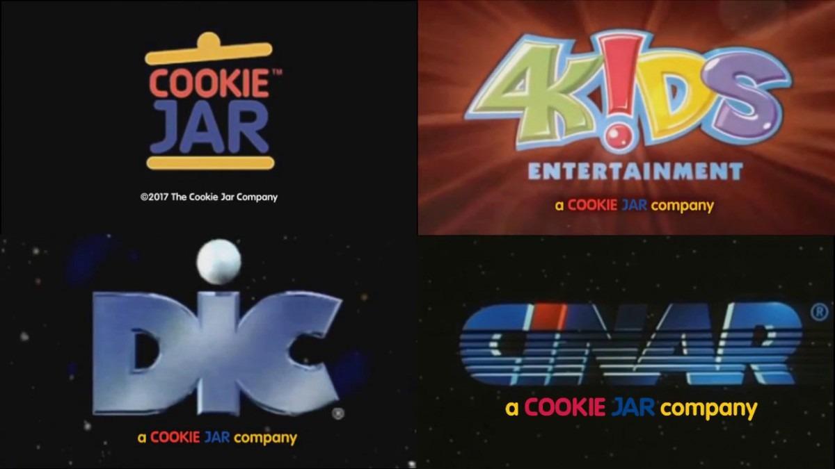 Cookie Jar Dic Cinar And 4kids Entertainment Tag Team Plaster On