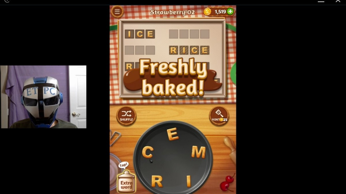 Word Cookies Strawberry 02 Solved