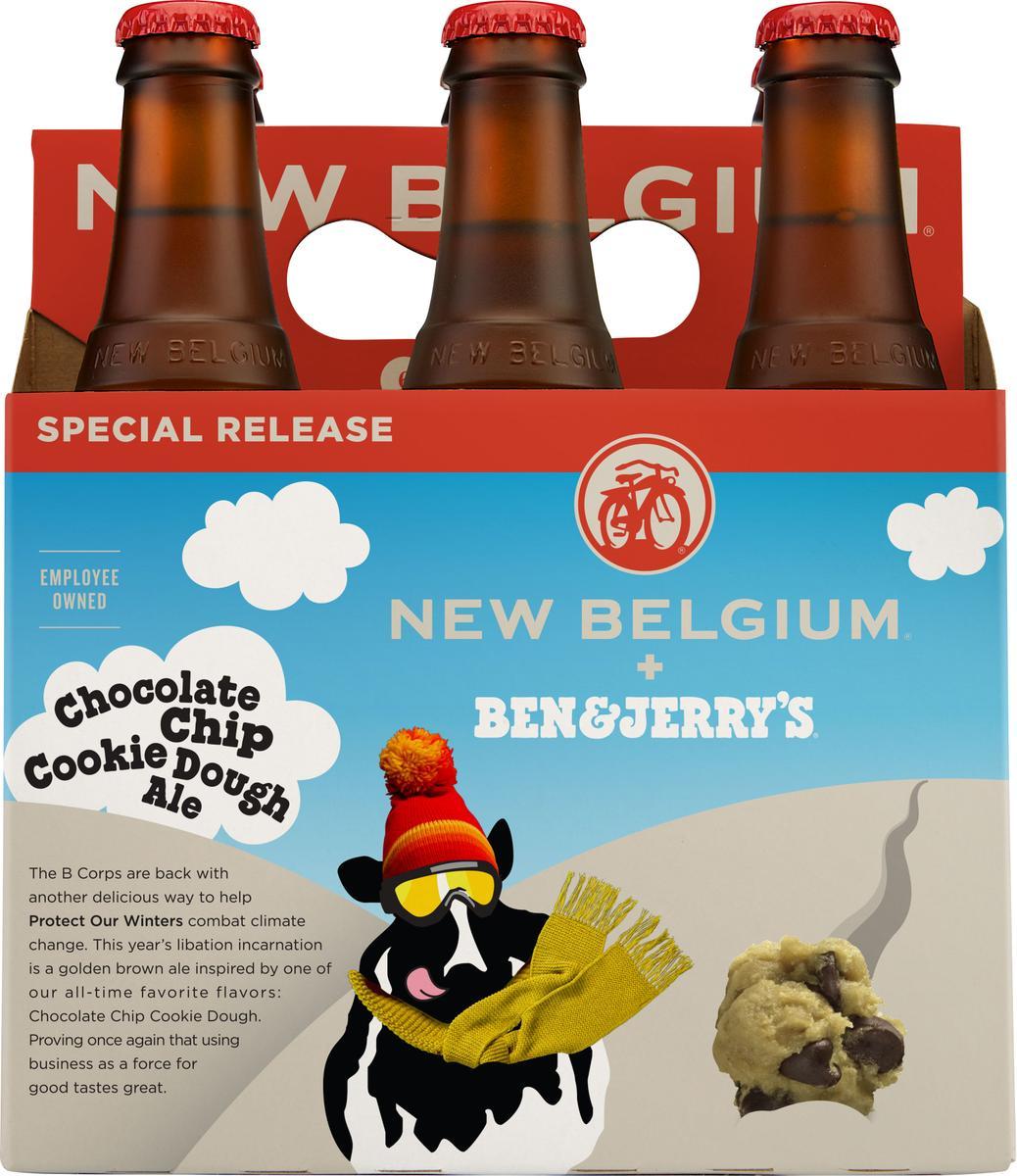 New Belgium Brewing To Release Second Ben & Jerry's Ice Cream