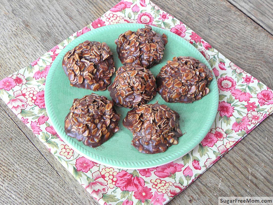 No Bake Chocolate Oatmeal Cookies {nut & Gluten Free}
