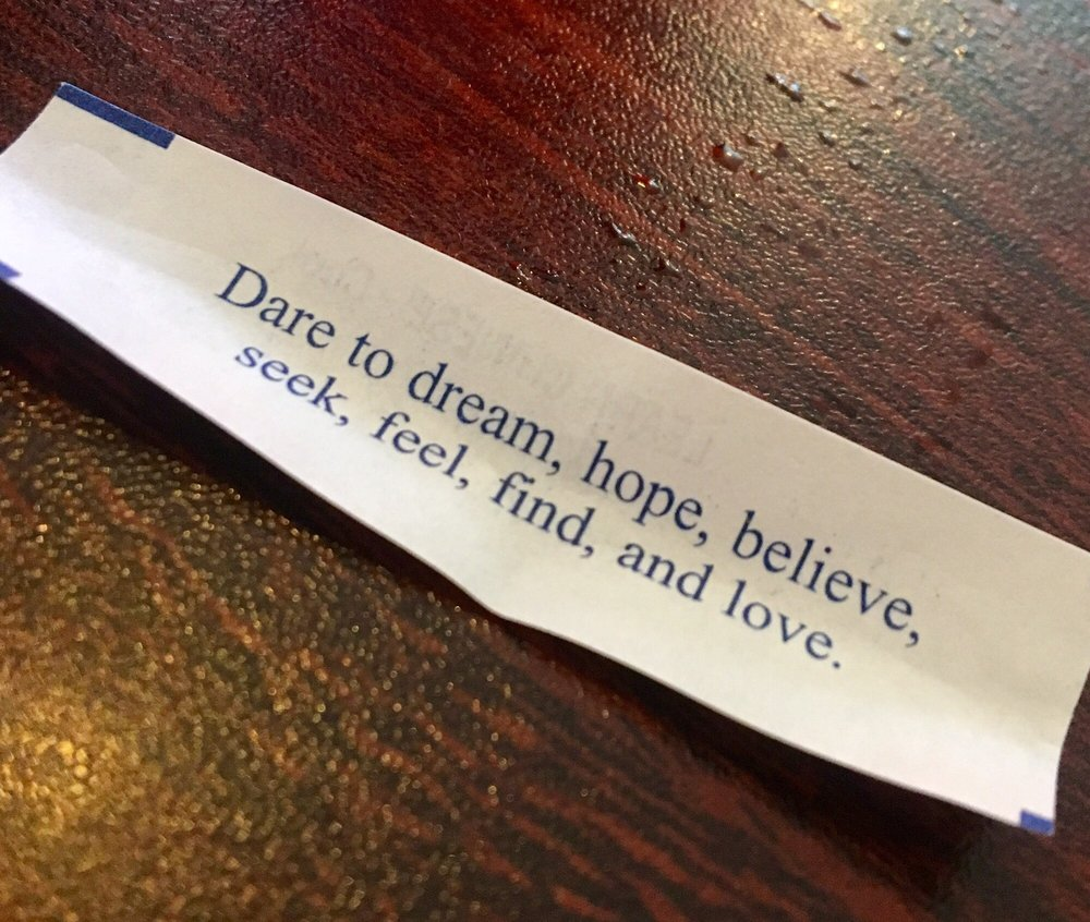 One Of The Best Fortune Cookies Ever!