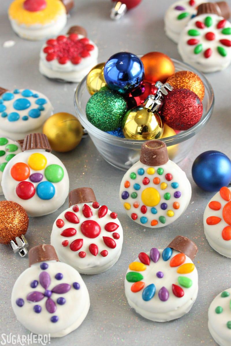 Oreo Cookie Christmas Ornaments