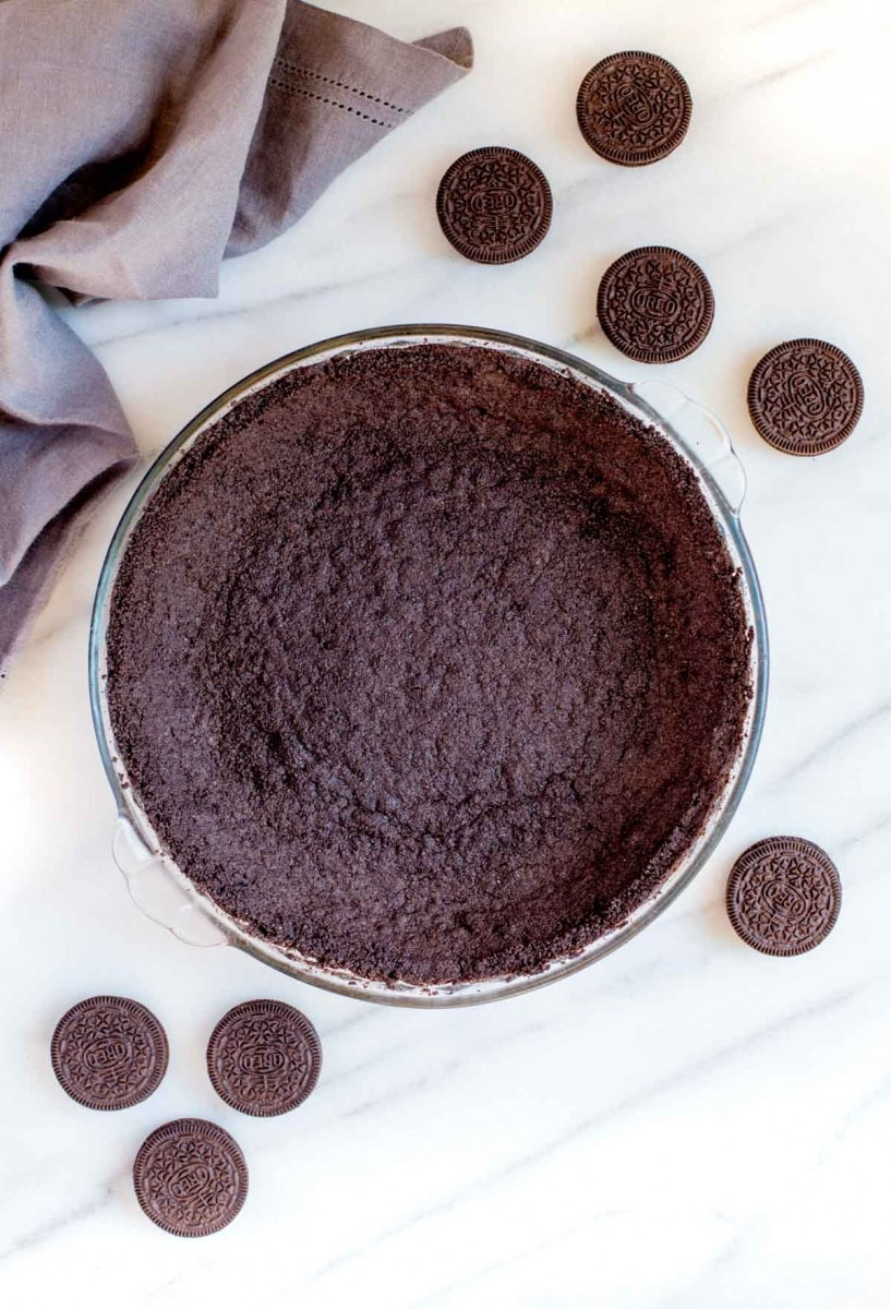 Oreo Cookie Crust