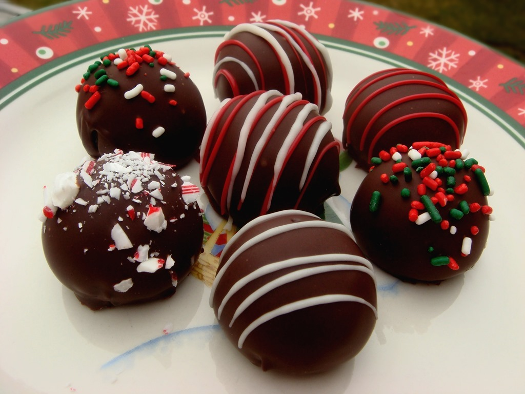 Twelve Days Of Christmas Cookies  Oreo Truffles