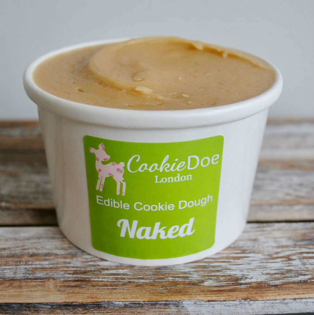 Naked Edible Cookie Dough Tub By Cookie Doe London