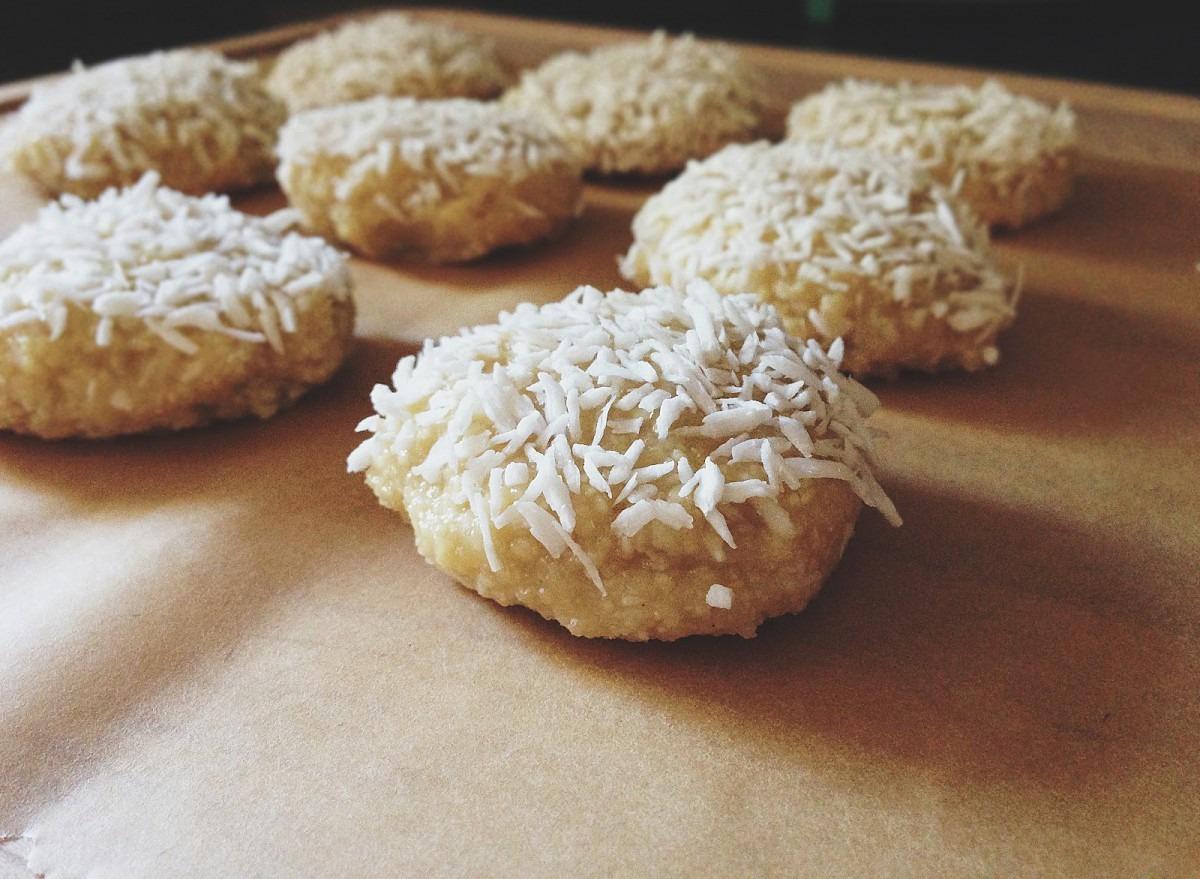 Made To Create  Raw Lemon Coconut Cookies