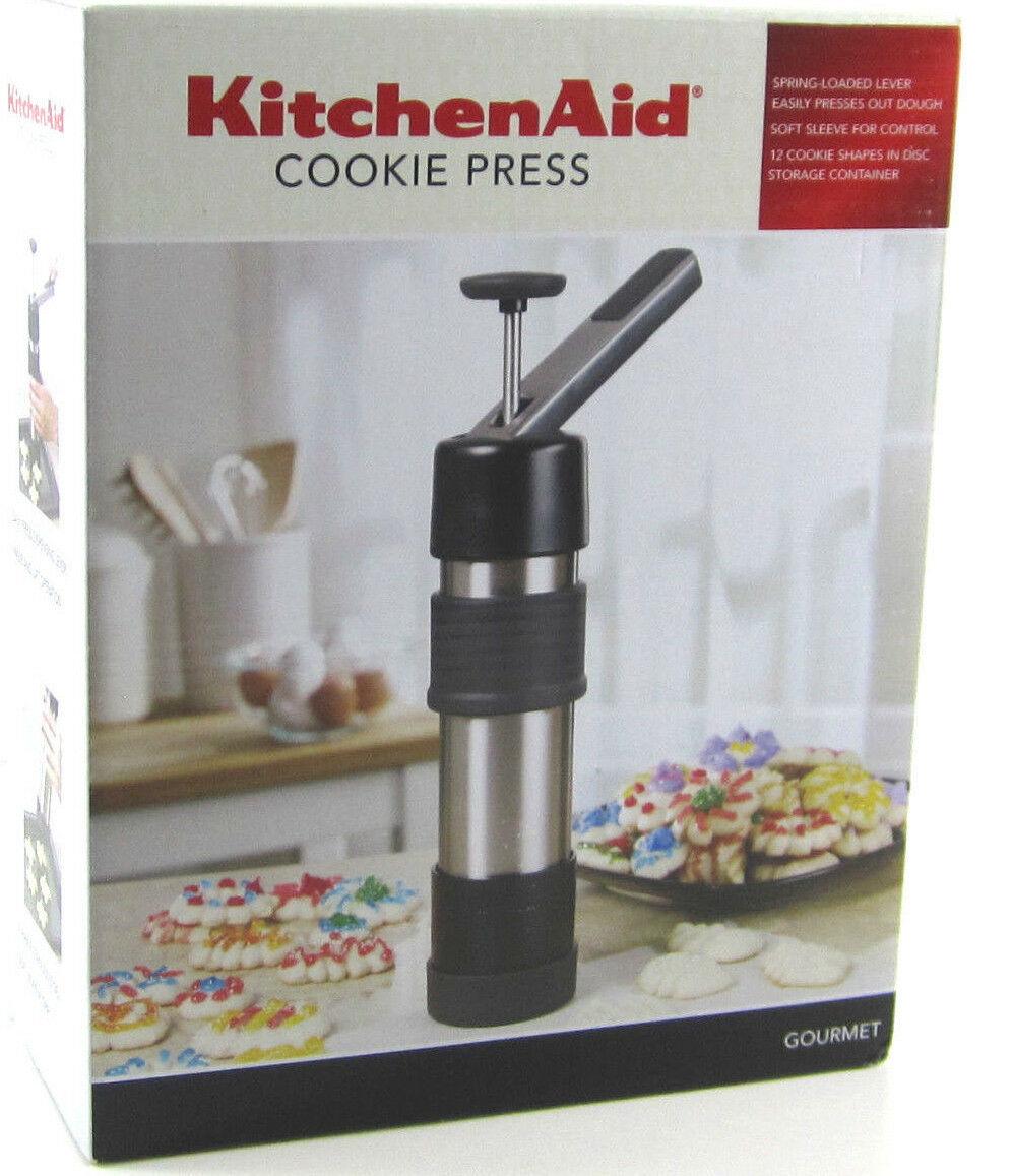 Kitchenaid Cookie Press Recipe