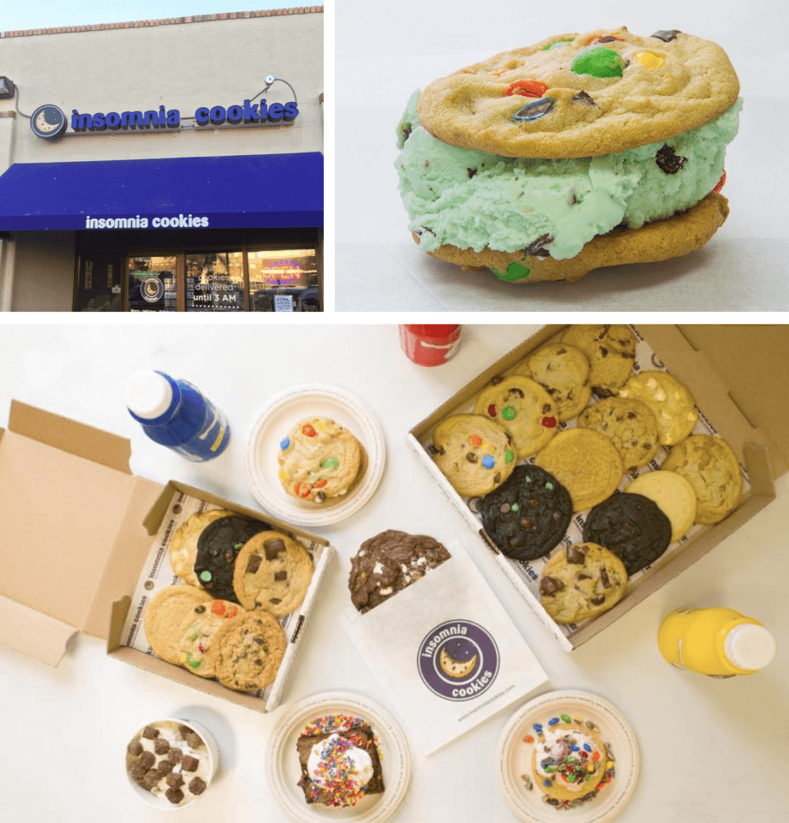 Sandiegoville  Late Night Sweet Shop Chain Insomnia Cookies To