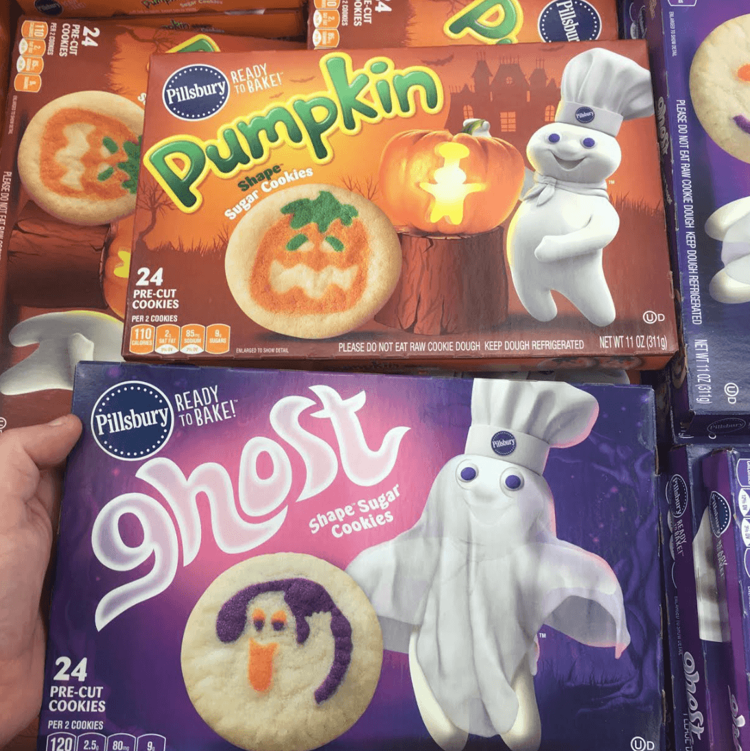 Found! Pillsbury Halloween Cookie Doughs