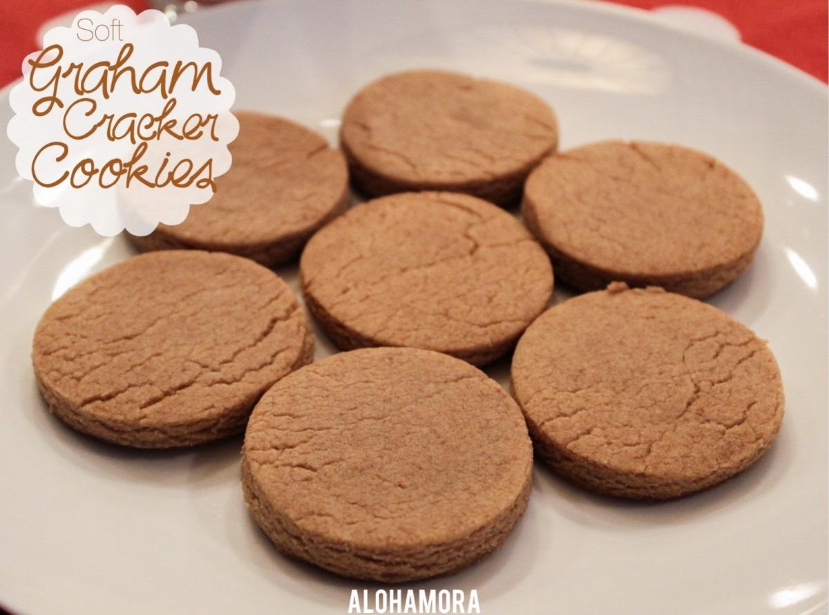 Alohamora  Open A Book  Soft Graham Cracker Cookies {egg Free}
