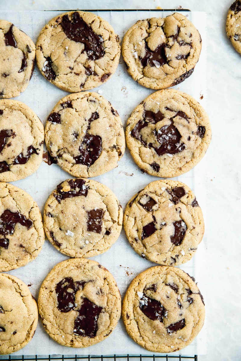 The Best Chocolate Chip Tahini Cookies In The World