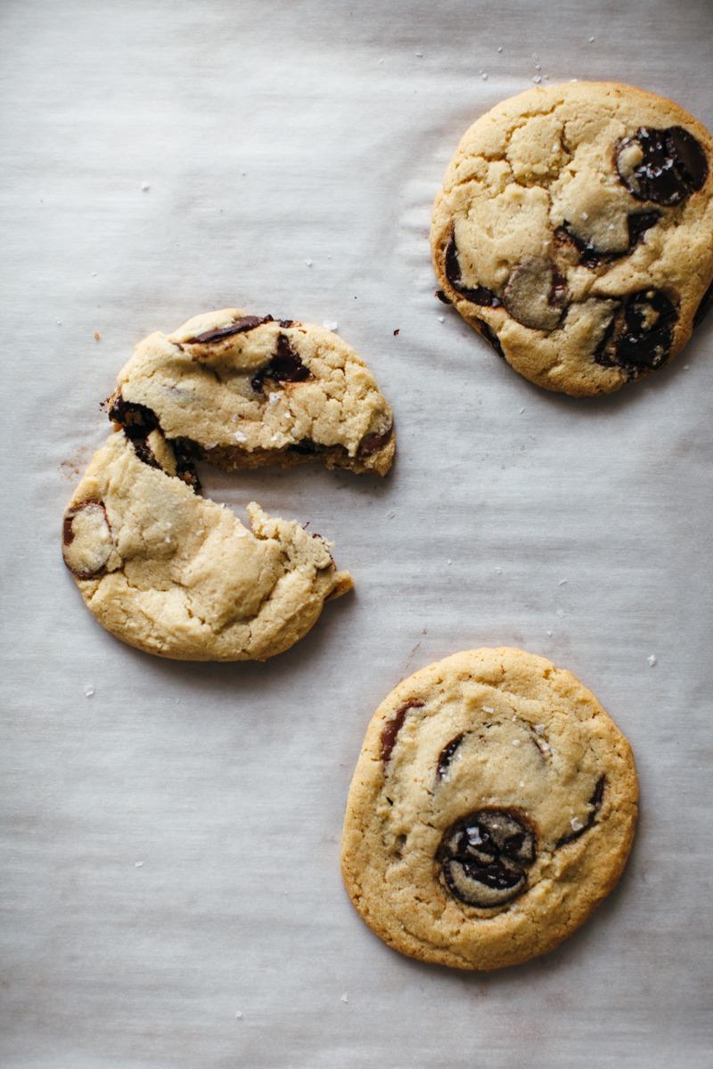 Salted Tahini Chocolate Chip Cookies – Soom Foods