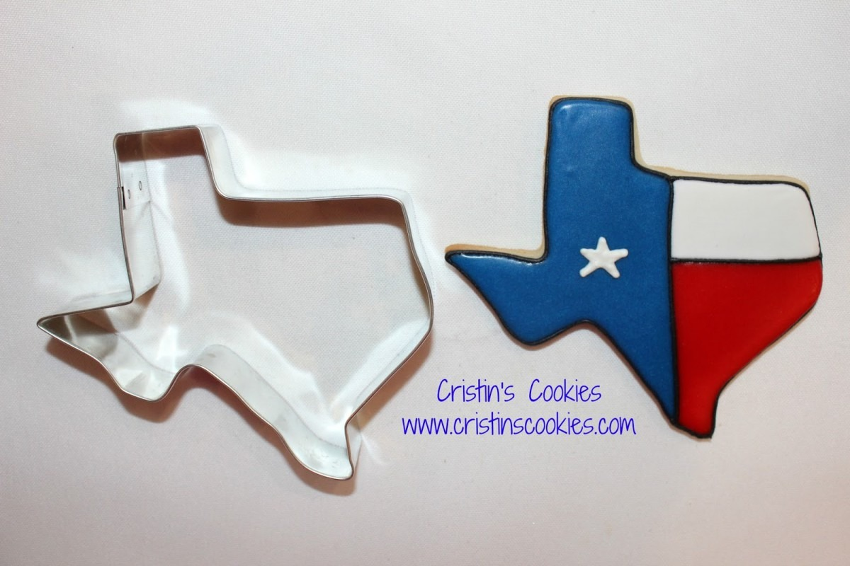 Cristin's Cookies  Texas Cookies For A Cowgirl