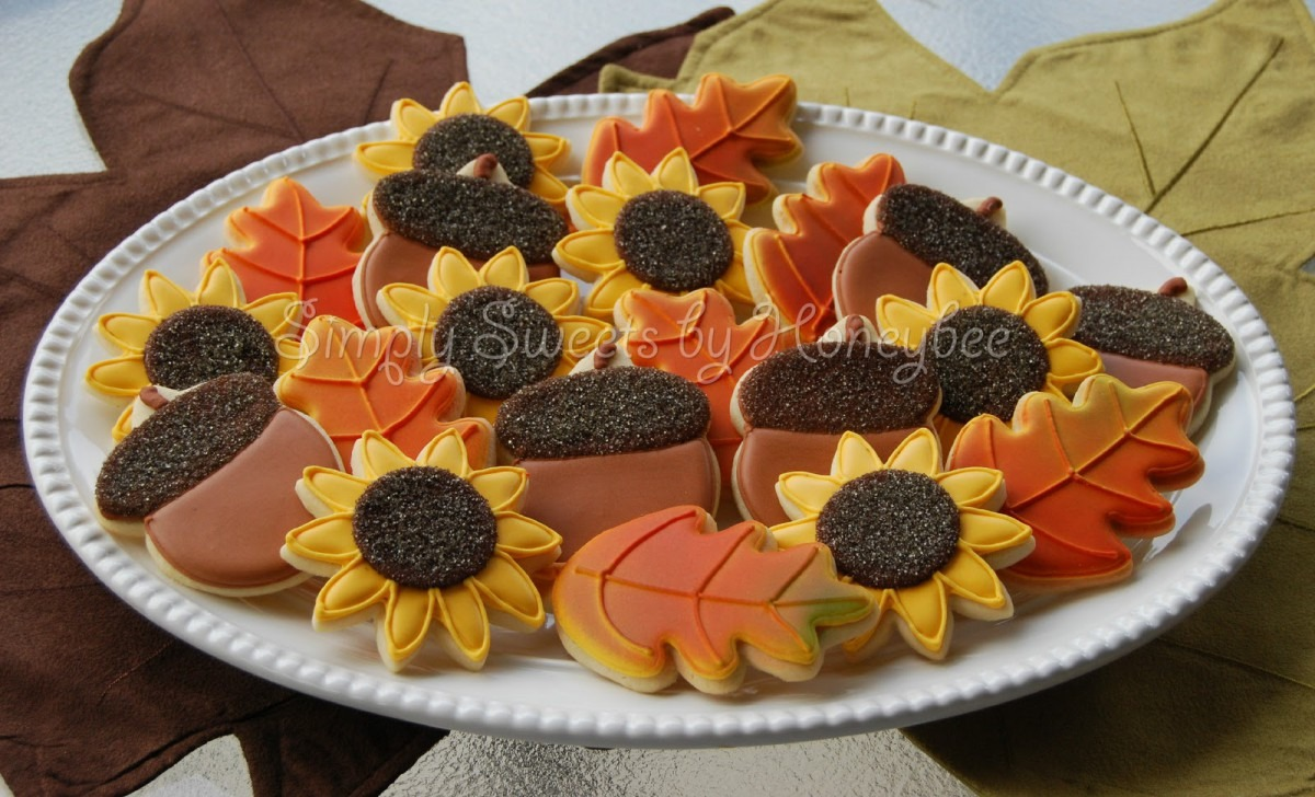 Thanksgivinge Ideas Sugar Decorating Ideasdecorated