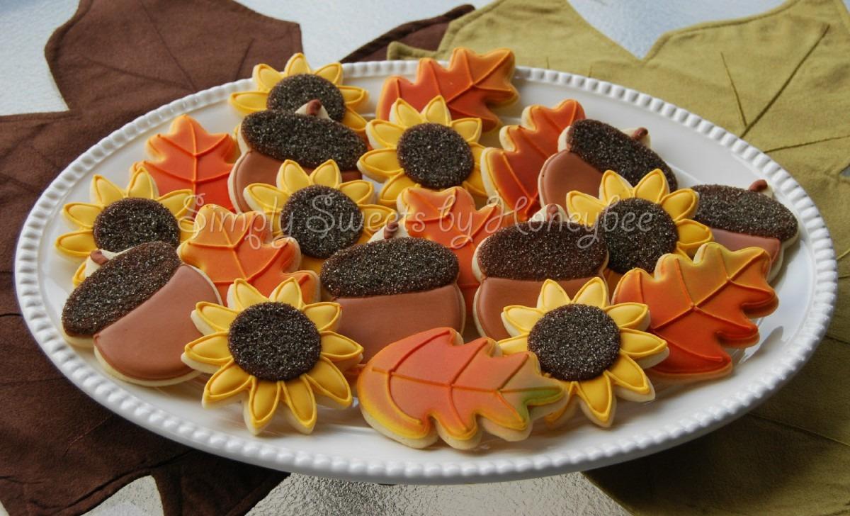 Thanksgivinge Ideas Sugar Decorating Ideasdecorated