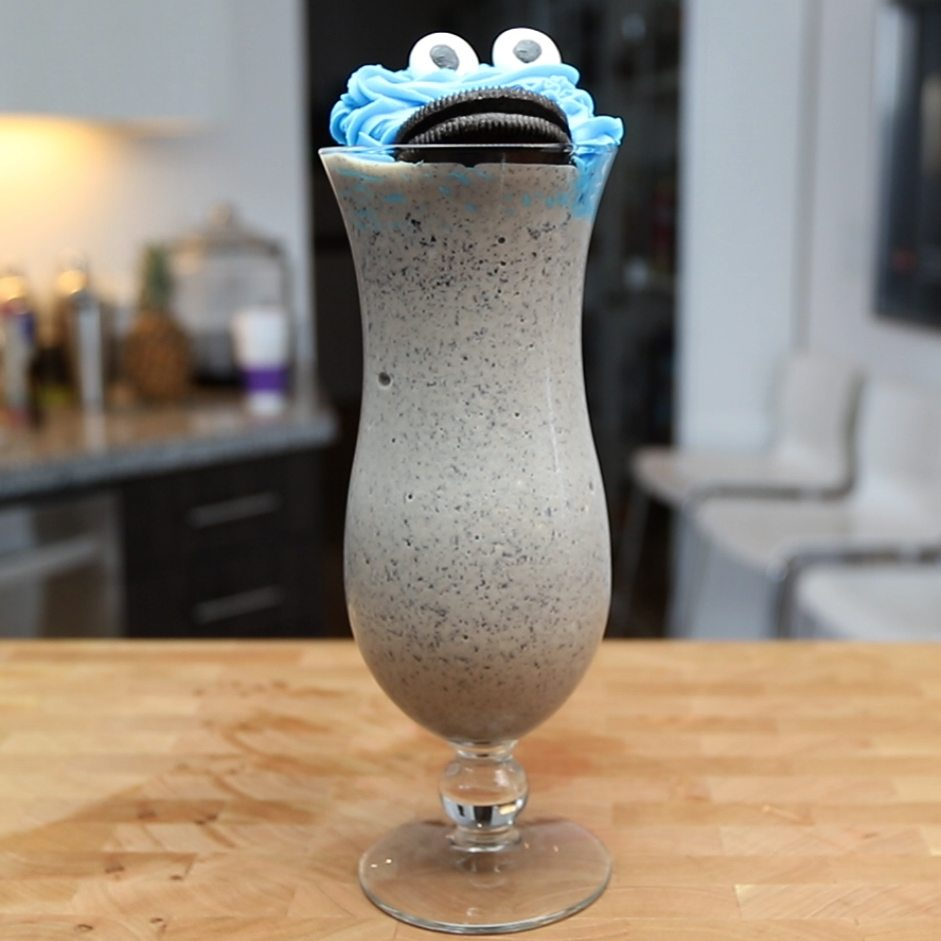 The Drunken Cookie Monster Cocktail