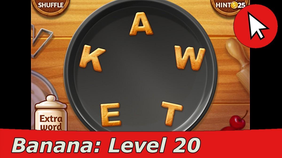 Word Cookies Banana 20 Answers