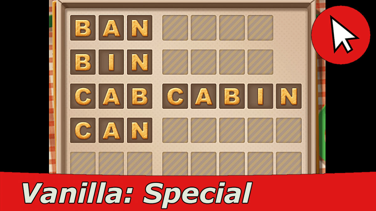 Word Cookies Vanilla Special Level Answers