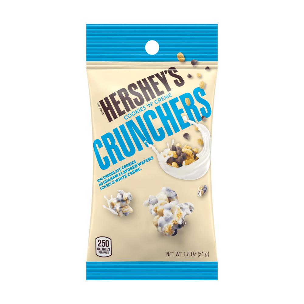 Hershey's Cookies 'n' Cream Crunchers Tube, 1 8 Ounces
