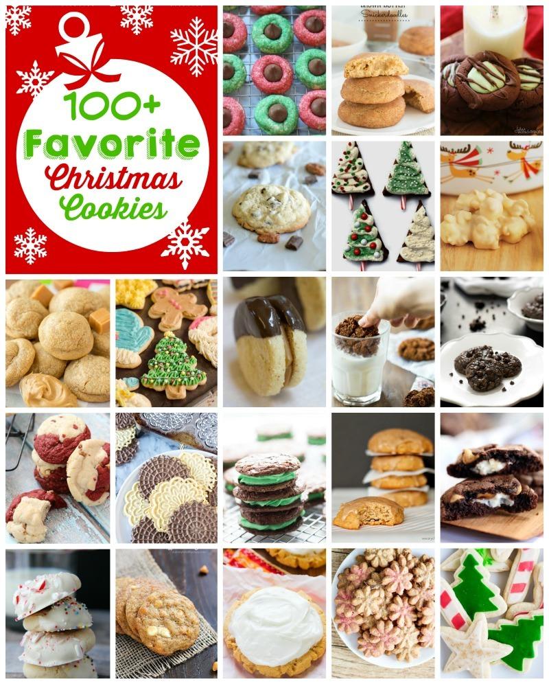 100+ Favorite Christmas Cookies