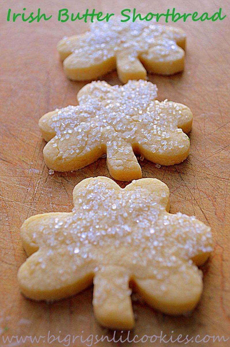 Irish Butter Shortbread (big Rigs 'n Lil' Cookies)