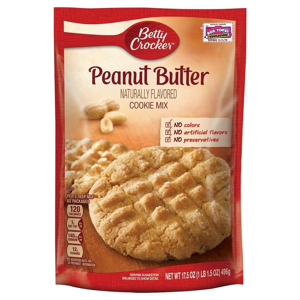 Betty Crocker Peanut Butter Cookie Mix 7 2 Oz