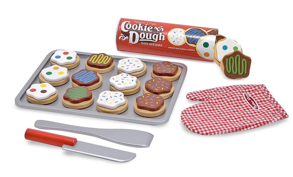 Melissa And Doug Wooden Slice And Bake Cookie Set; Adamontise Co Uk