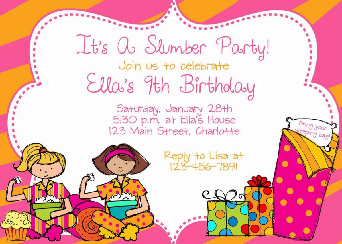 Sample Refusal Letter To A Birthday Party Invitation
