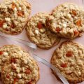 White Chocolate Oatmeal Cookies