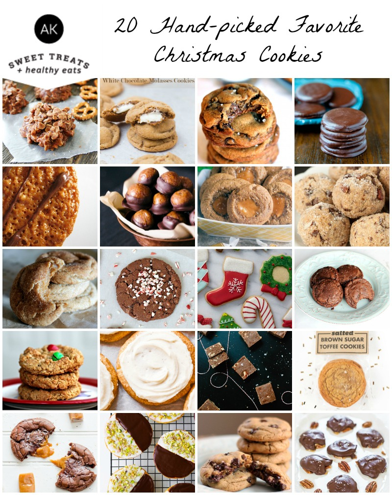 20 Favorite Christmas Cookie Recipes