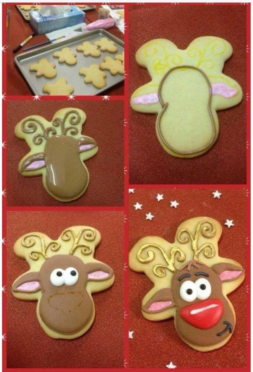 Wow! Use A Gingerbread Man Cutter To Make A Reindeer!